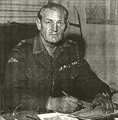 """Lieutenant Colonel John Malcolm Thorpe Fleming """"Jack"""" Churchill, DSO- Bar, MC - Bar (1906 – 1996), nicknamed Fighting Jack Churchill and Mad Jack, was a British soldier who fought throughout WW2 armed with a longbow, and a Scottish sword (a basket-hilted claymore). He is known for the motto """"any officer who goes into action without his sword is improperly dressed."""" Churchill also carried out the last recorded bow and arrow killing in action, shooting a German NCO in 1940 in a French village."""