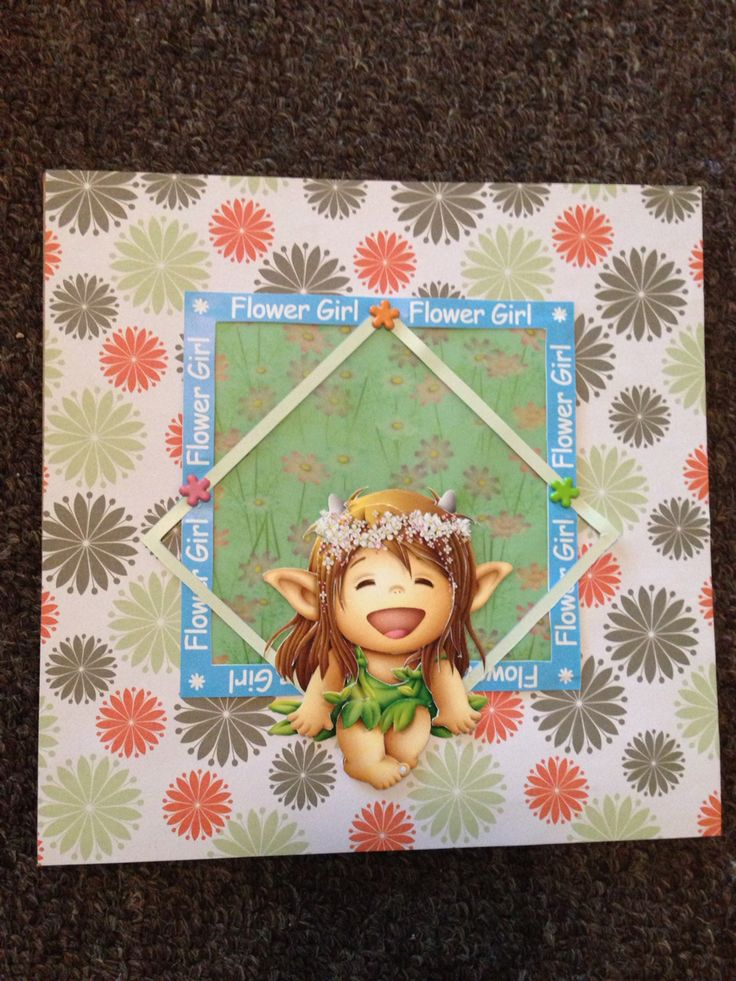 Flower girl; Toread 3D
