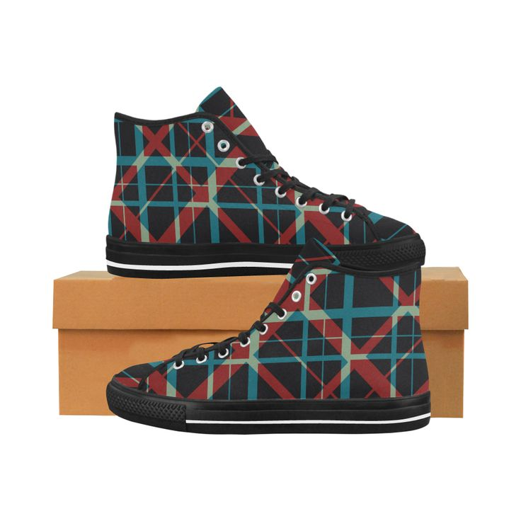 Plaid I Hipster style plaid pattern Vancouver H Men's Canvas Shoes by Scar Design. #shoes #style #fashion #sneakers #art #online #shopping #39 #geometric #family #giftsforhim #giftsforher #womensshoew #mensshoes #kidsshoes #boots #scardesign #artsadd #cheapshoes #gothic #skull #plaid #plaidshoes #gifts #pattern #dots #pop #popart #popculture
