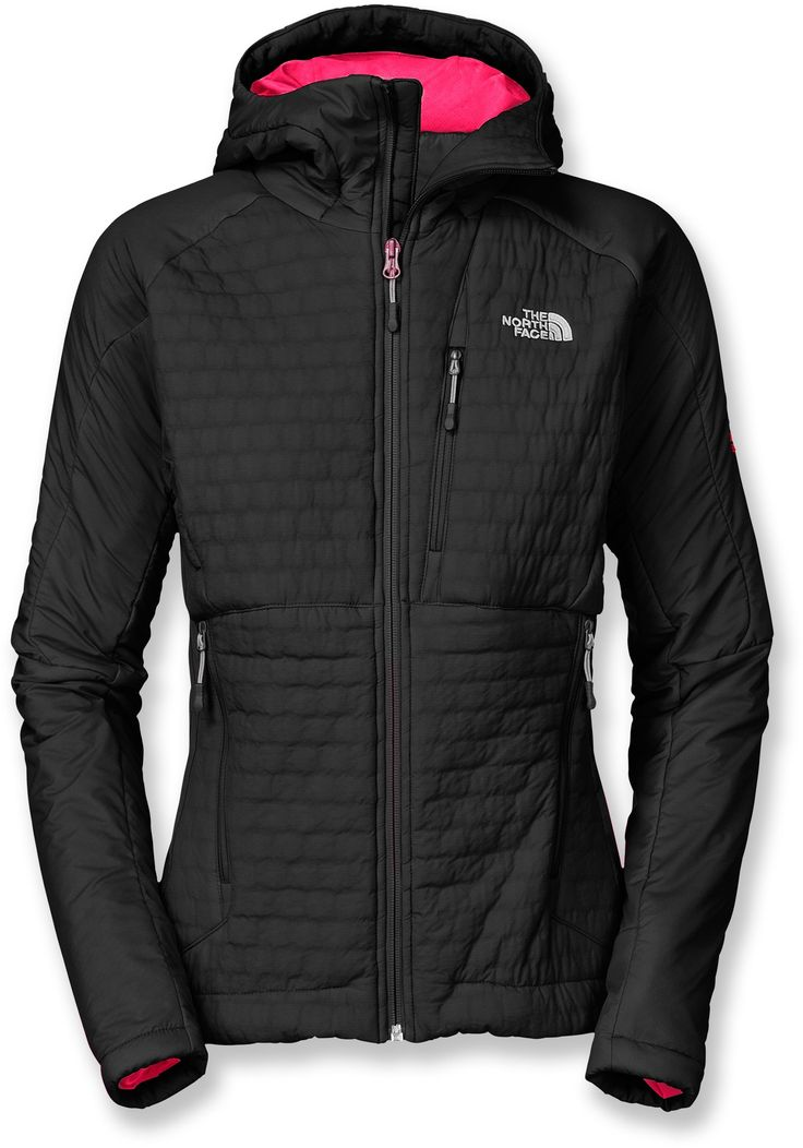 The North Face Polar Hooded Jacket - Cute colors and looks SO warm. Perfect for skiing!