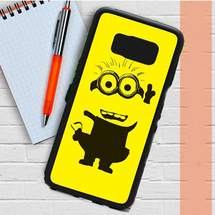 Yellow Minion Samsung Galaxy S8 Plus Case Casefreed