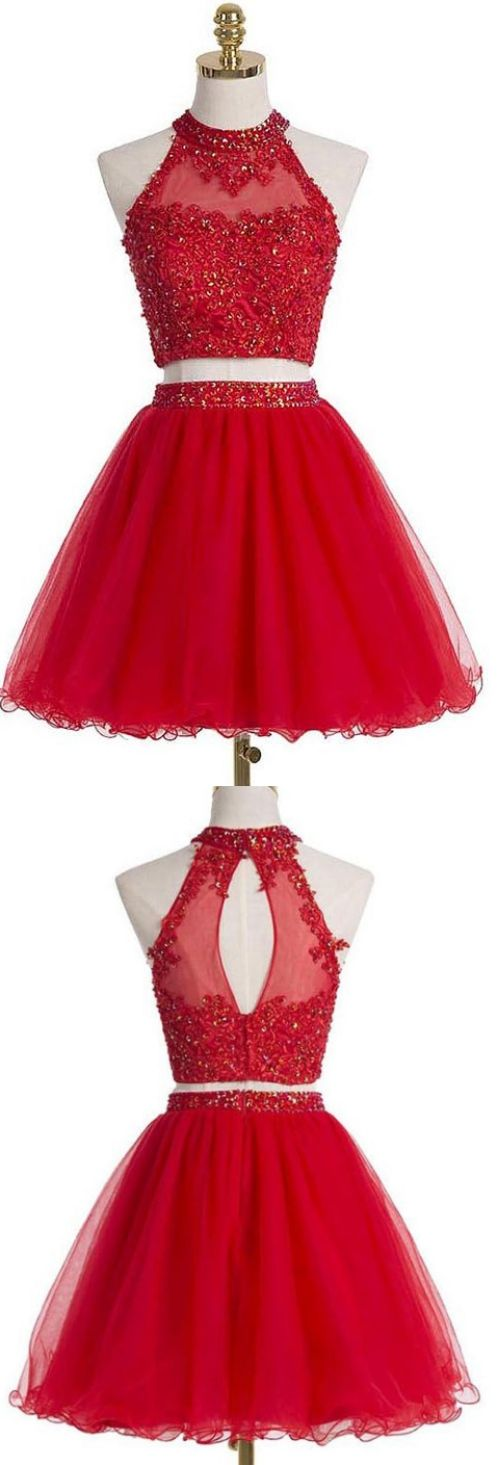 Red A-line/Princess Homecoming Dresses, Red Homecoming Dresses, A-line/Princess Homecoming Dresses, Short Homecoming Dresses, Red Lace dresses, Short Red dresses, Short Lace dresses, Lace Homecoming Dresses, Red Short Dresses, Homecoming Dresses Short, Lace Short dresses, Red Sparkly dresses, Lace Red dresses, Short Red Homecoming Dresses, Short Tulle dresses