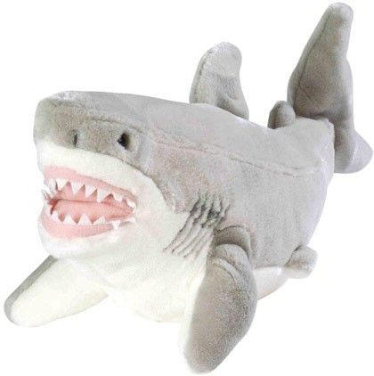 Megalodon Shark Soft Toy Great White Shark Everything