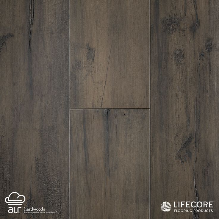 "In Italian, the word Allegra means ""joyful."" This visually pleasing collection of wide-plank engineered prefinished maples more than lives up to its name. The deep wire brushing and fumed finish is done by hand, allowing each plank to add its own unique statement to the floor's collective beauty. Maple scores the second highest of any non-exotic species on the Janka Hardness scale, earning 1450 (as opposed to American Cherry, which scores 950.).  Allegra Maple: Richly Stated"
