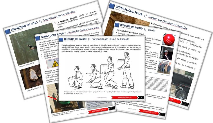 17 Best Images About Weeklysafety Com On Pinterest