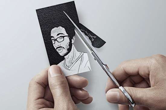 These Hair Cutting Business Cards Leaves a Good First Impression #businesscards #design trendhunter.com