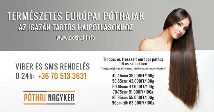 #póthaj #póthajak #hajkereskedés www.pothaj.info