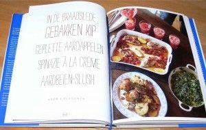 Het menu (min de aardbeienprut, tot grote spijt van Martine haha)