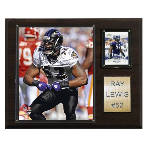 NFL Ray Lewis Baltimore Ravens Player Plaque