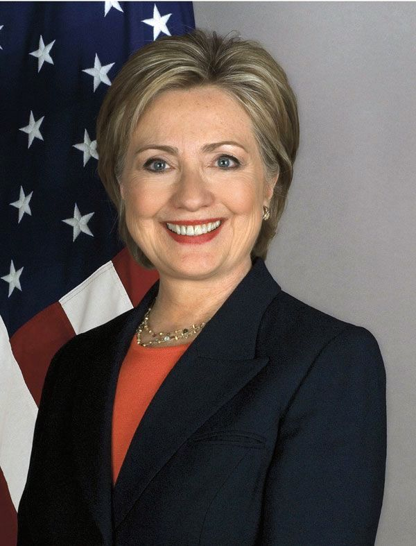 Hillary Diane Rodham Clinton (born October 26, 1947) is an American politician who was the 67th US Secretary of State (2009-2013) U.S. Senator from New York from 2001 to 2009, First Lady of the US (1993-2001) and the Democratic Party's nominee for President of the United States in the 2016 election.