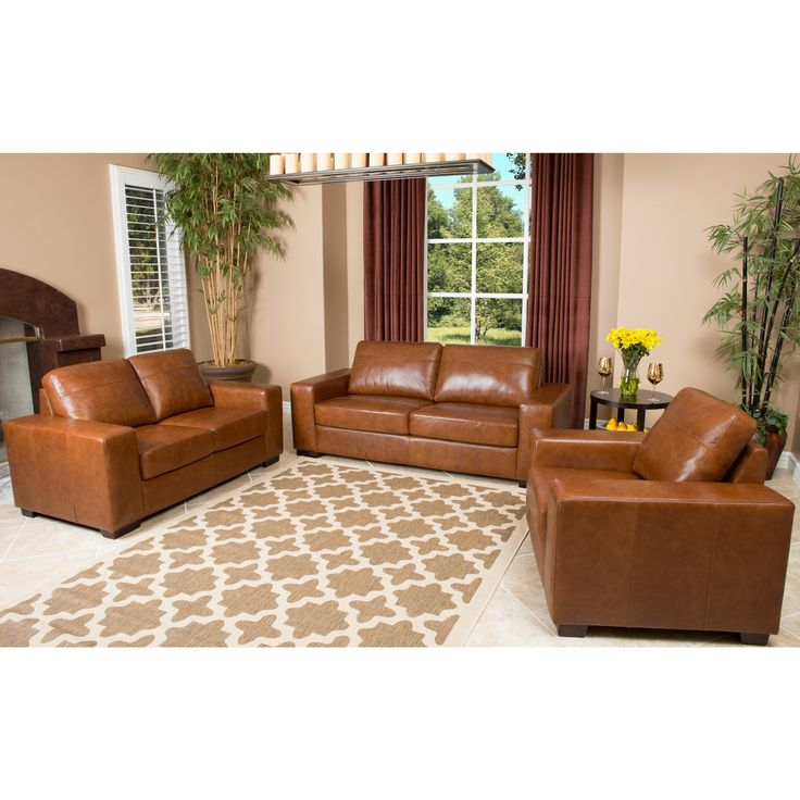 This Luxurious Furniture Set Includes A Sofa Loveseat And