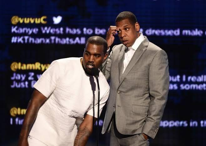 Jay Z And Kanye West Squash Tidal Beef Kanye West Kanye 50th Birthday Party