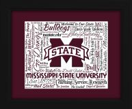 Mississippi State Bulldogs gift ideas for graduation birthdays college presents unique gifts art Mississippi State University