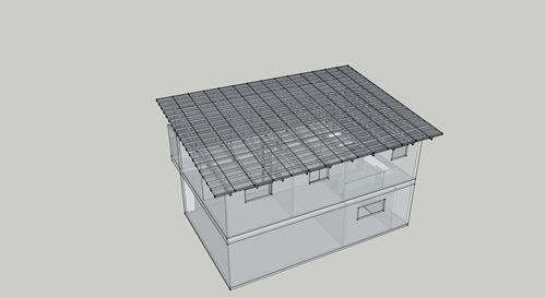 Garage apartment model detail Nick Hindson