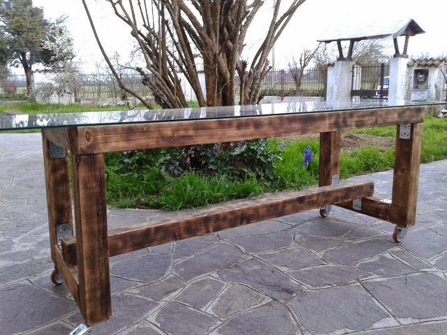 sbancali: tavolo giardino