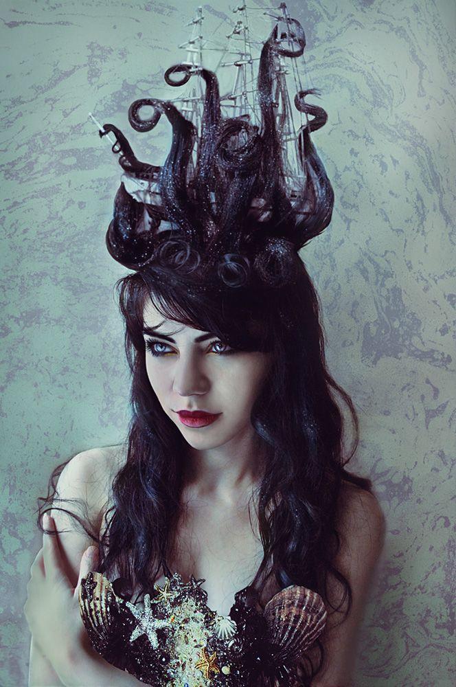 Kraken by DominiqueWesson.d... on @deviantART