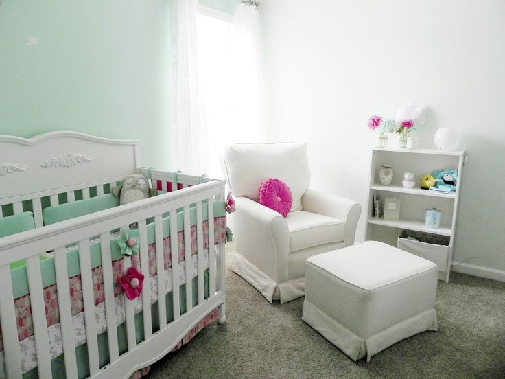 108 best Mint Green Nursery images on Pinterest | Growing up, Project  nursery and Projects