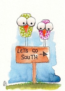 Let's go South...