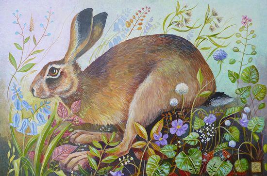 Spring Hare - Jemima Jameson: gallery