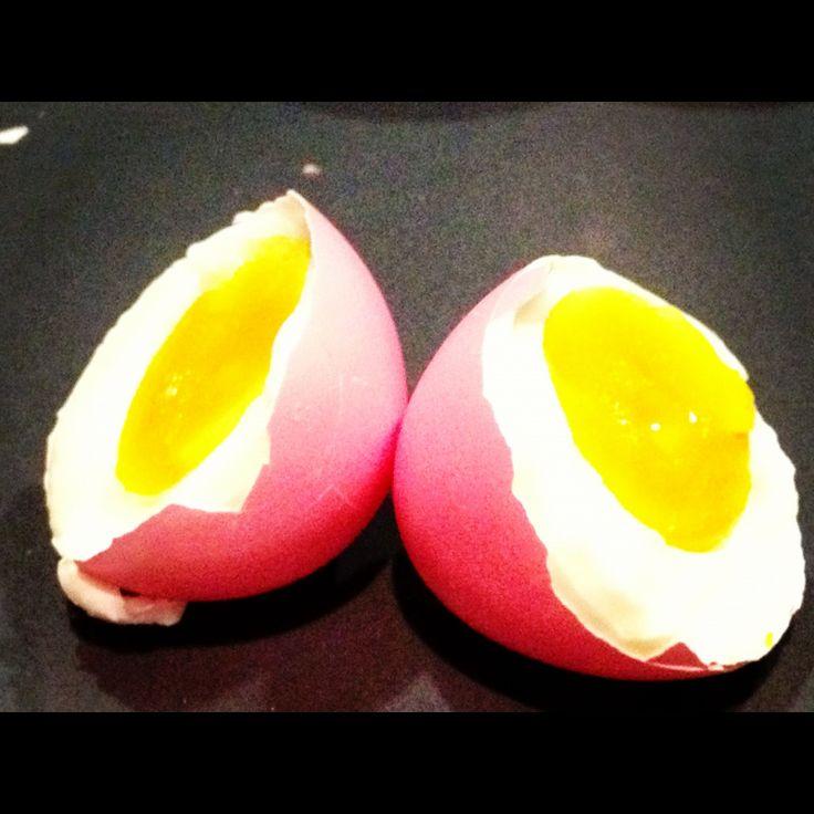 Storesøsters Kjøkken: Farget egg