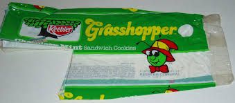 Image result for grasshopper cookies 1980s