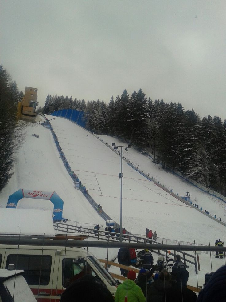 Ski flying at Kulm, 16.1.2016