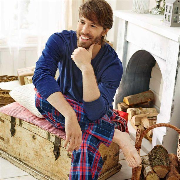 Férfi kockás pizsama - AVON termékek