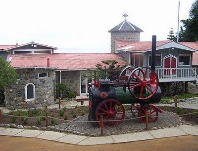 Casa Museo de Pablo Neruda en Isla Negra, V Región.