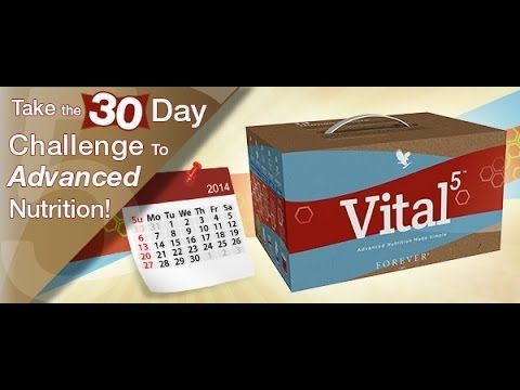 Vital5 Nutrition Product Pack from Forever Living