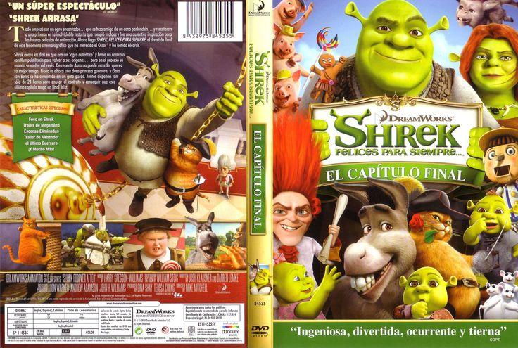 Shrek Felices Para Siempre Shrek 4 Shrek Dreamworks Portadas De Peliculas