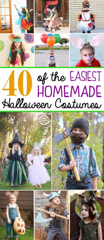 40+ {Easy} Homemade Costumes for Kids