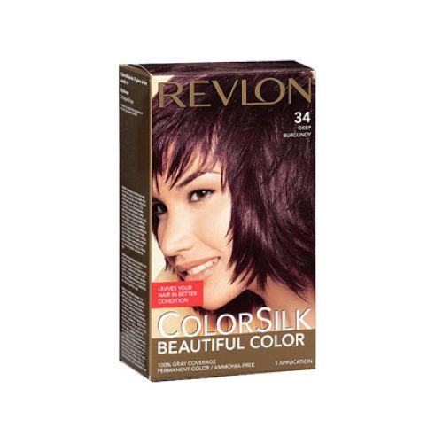 Revlon Revlon c silk tinte deep burgun 3db Tinte de larga duración, que deja tu cabello en mejores condiciones,le da la apariencia natural, incluso el color de la raíz a la punta, el cabello se ve más sedoso, brillante y saludable que antes de tinturar.
