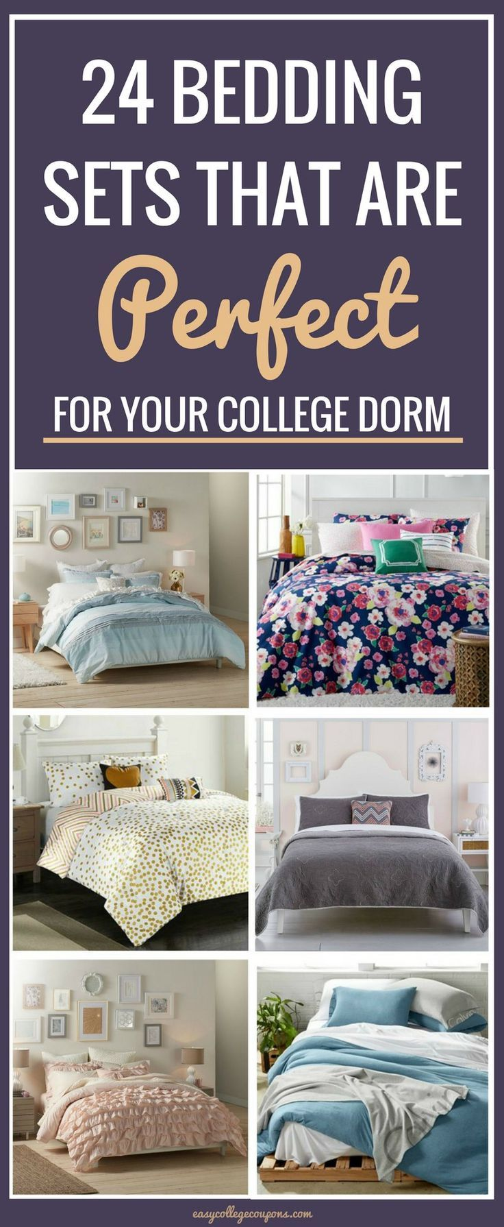 24 Bedding Sets That Are Perfect For Your College Dorm Part 86