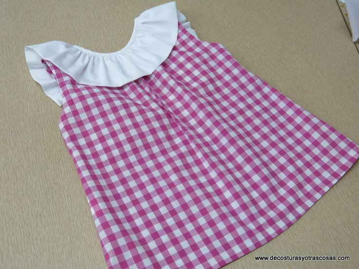 blusón de verano para niña