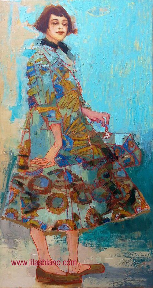Un Tour dans le Sac  125 x 65 cm By Lilas Blano