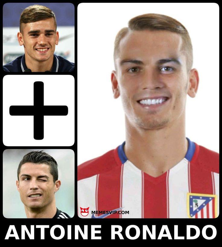 Meme Antoine Griezmann más Cristiano Ronaldo #meme #memes #memesespañol #englishmemes #griezmann #cristianoronaldo #cr7 #atleticodemadrid #atleti #realmadrid