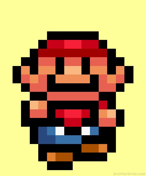 """Happy Birthday to Brother Brain! """" Suit Up! by Brother Brain Super Mario All-Stars (SNES) """""""