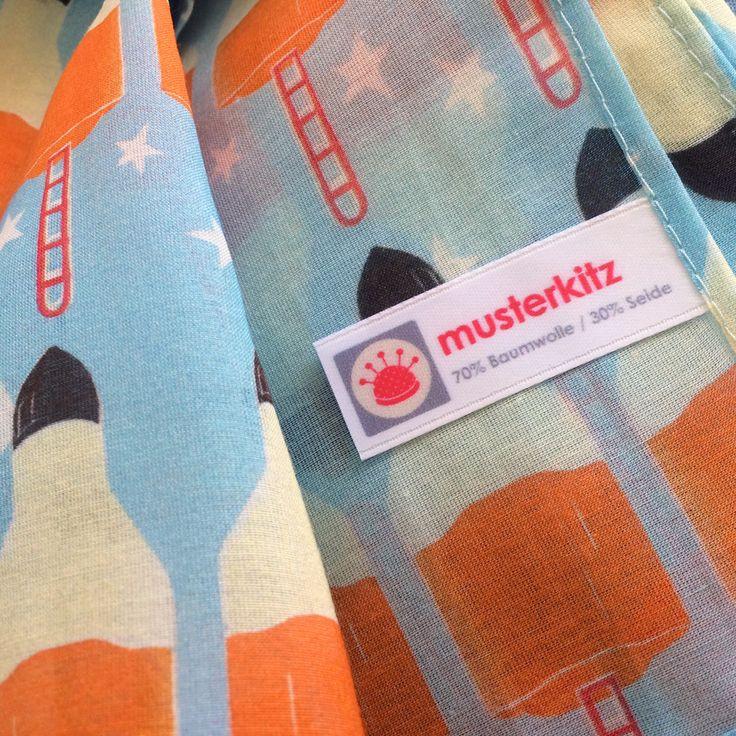 Raketen-Schal von musterkitz