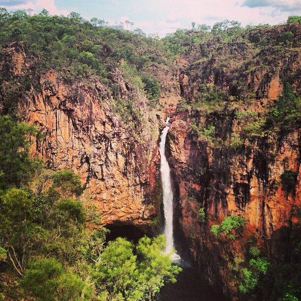 Tolmi Falls in Litchfield National Park near #Darwin, NT #Australia