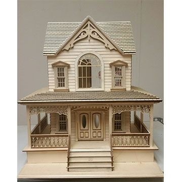 1000 ideas about dollhouse kits on pinterest doll Victorian cottages kit homes