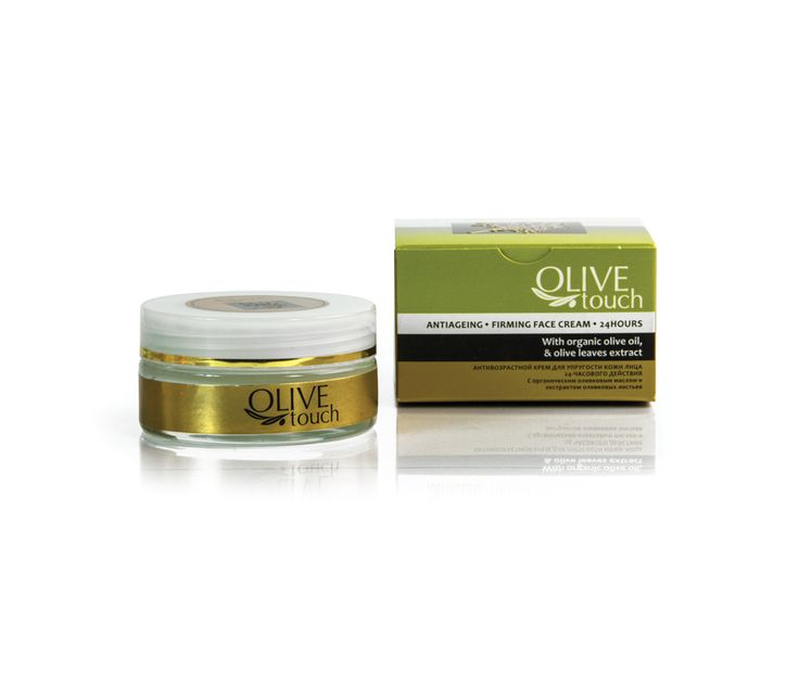 24 Face Cream with enriched composition in organic farming ingredients.Ideal for revitalizing and firming mature, tired skin. With organic Olive oil , low acidity, deeply moisturizing, Olive Leaf Extract and Grapeseed oil. Powerfull anti-ageing properties it reduces wrinkle depth. Also, Wheat extract tightens the skin and improves the oval of the face. #firmingfacecream #antiageing #antiageingcream #firmingcream #facecream #cream #naturalcosmetics #olivetouch