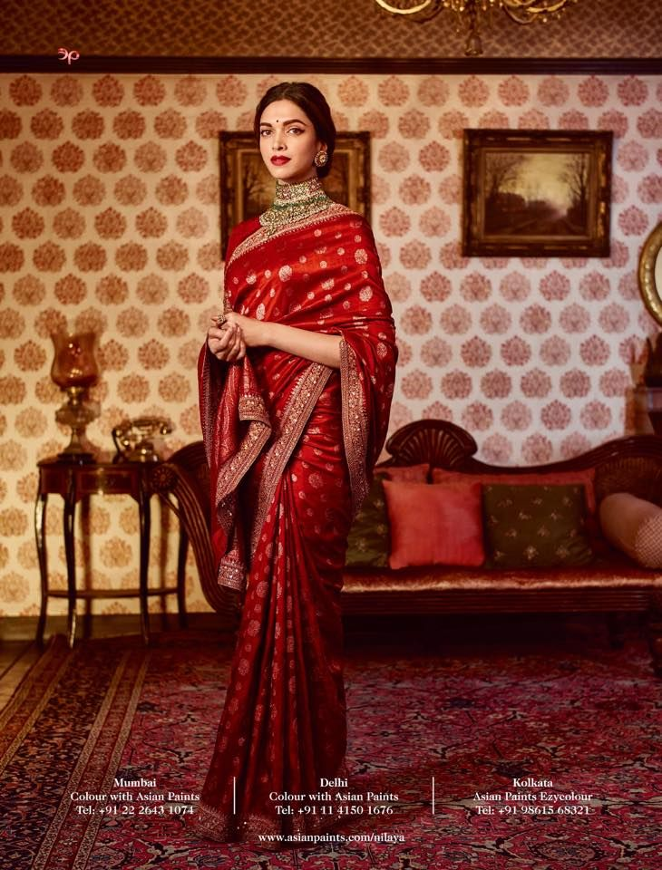 By designer Sabyasachi Mukherjee. Shop for your wedding trousseau, with a personal shopper & stylist in India - Bridelan, visit our website www.bridelan.com #Bridelan #sabyasachi #sabyasachisari