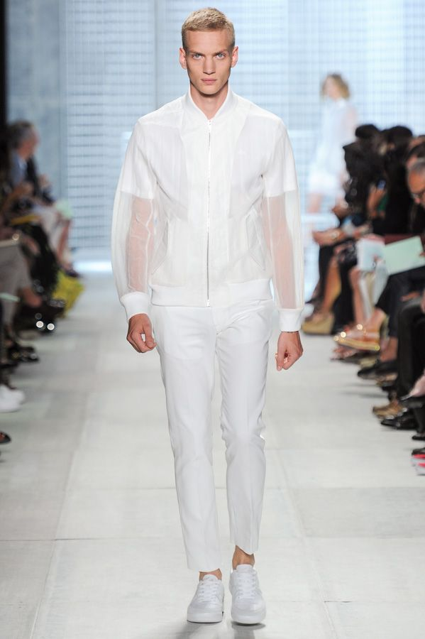 #Lacoste Spring-Summer 2014 #Fashion Show #Look. #LacosteSS14 #NYFW