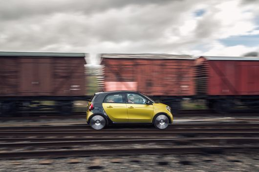 Mercedes designs Smart car-based train (for some reason)