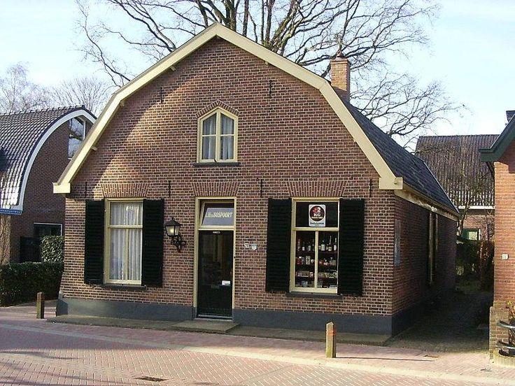 Winkeltje van Hilletje, mooi gerestaureerd gemeente monument Ede