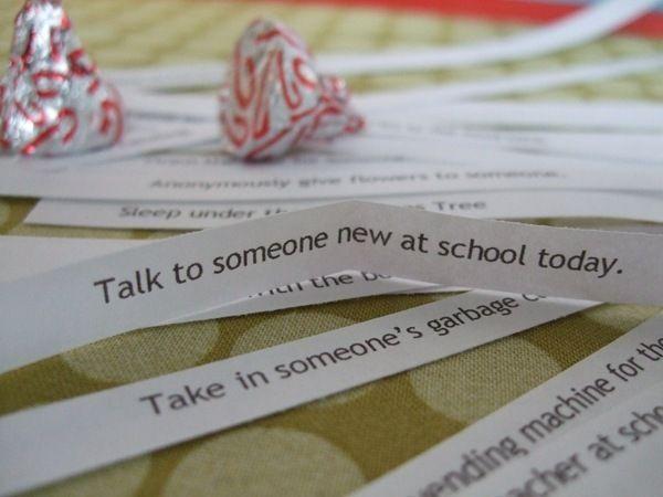 Service Advent Idea- fun idea for the kids when they are older