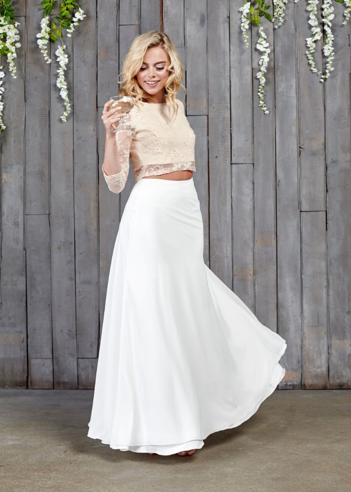 46 Best Bridal Skirts Images On Pinterest