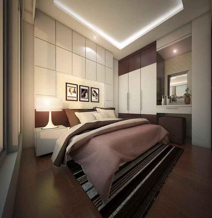 Master Bedroom, Sunter Apartment Indonesia, Jakarta