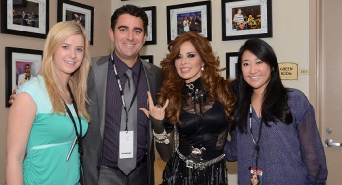 Day 1 of M&M Group's Sold Out 3-Day Tour with Gloria Trevi