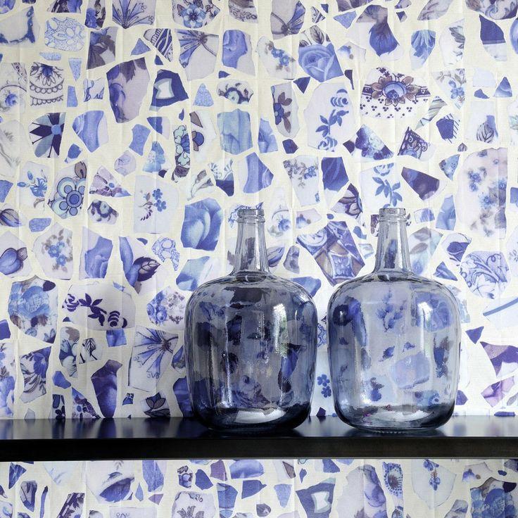 Elitis Pleats Portobello #wallpaper